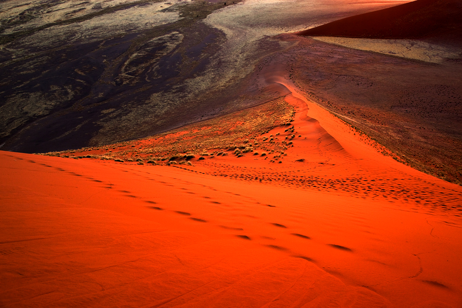 Joke van den Berg - Namibia - Flight over Namib Naukluft