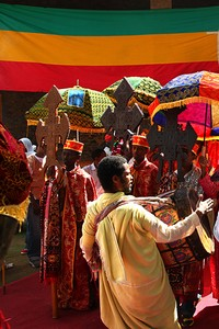 Timkat Celebration in Gondar, Ethiopia 2011